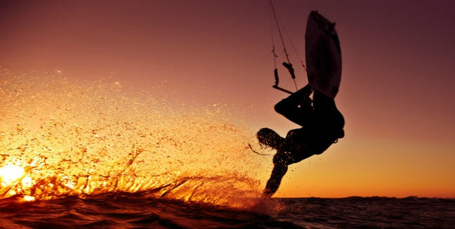 Learn to Kitesurf in two days